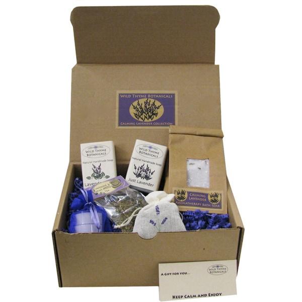 Calming Lavender Spa Collection