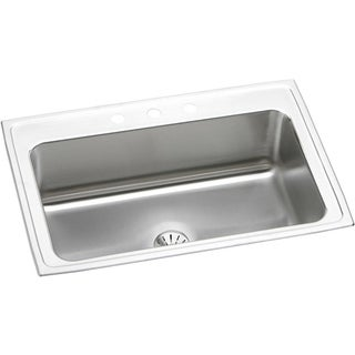 Elkay Gourmet Drop-in Stainless Steel DLRS332210PD1 Kitchen Sink