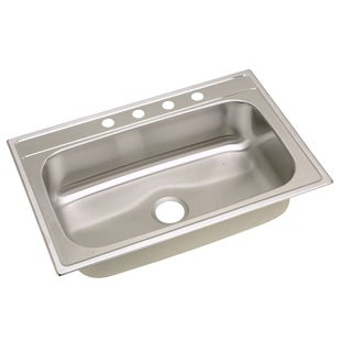 Elkay Gourmet Stainless Steel DPMSR127221 Kitchen Sink