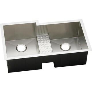 Elkay Avado Undermount Stainless Steel EFULB361810CDBR Kitchen Sink