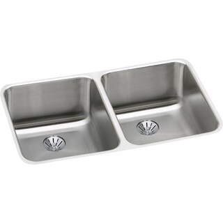 Elkay Gourmet Undermount Stainless Steel ELUH311810PD Kitchen Sink