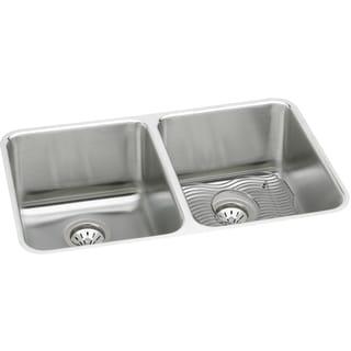 Elkay Gourmet Undermount Stainless Steel ELUH361710DBG Kitchen Sink