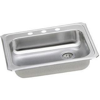 Elkay Gourmet Drop-in Stainless Steel GECR2521RMR2 Bright Satin Kitchen Sink