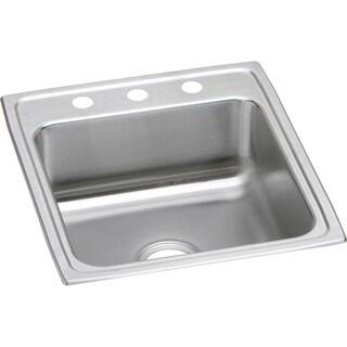 Elkay Gourmet Drop-in Stainless Steel LR20222 Lustertone Kitchen Sink