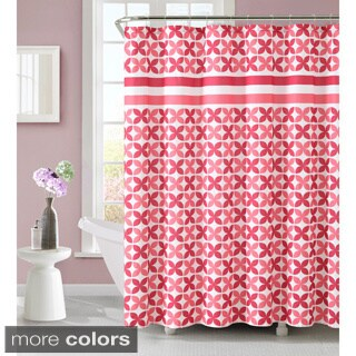 Pinwheel 72-inch Polyester Shower Curtain