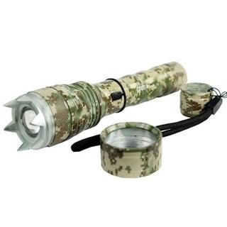 8-inch Hunt-down Cree T6 XM-L 500 Lumens Self Defense Flashlight