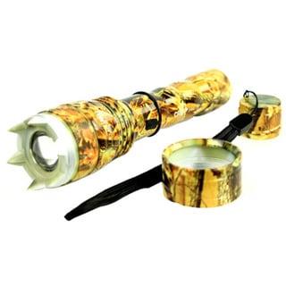 8-inch Hunt-down Self Defense Flashlight Cree T6 XM-L 500 Lumens