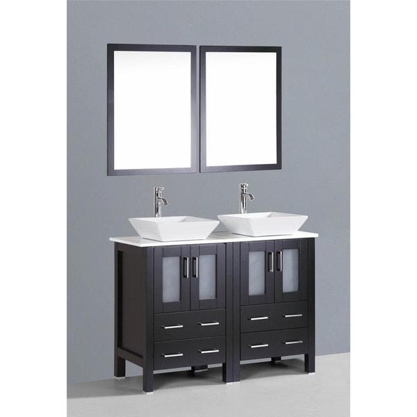 Bosconi AB224S 48 Inch Double Vanity