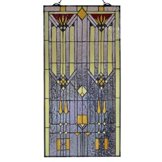 Tiffany-style Amara 40-inch Window Panel