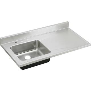 Elkay Gourmet Drop-in Stainless Steel S4819L4 Lustertone Kitchen Sink
