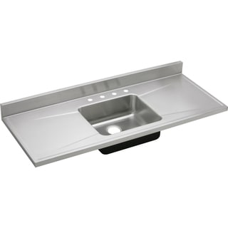 Elkay Gourmet Drop-in Stainless Steel S60194 Lustertone Kitchen Sink