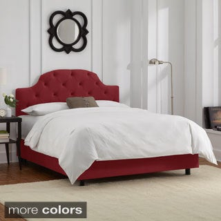 Skyline Furniture King Tufted Bed