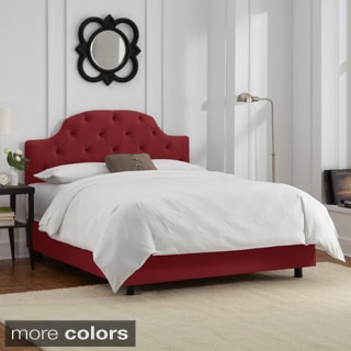 California King-Size Tufted Bed