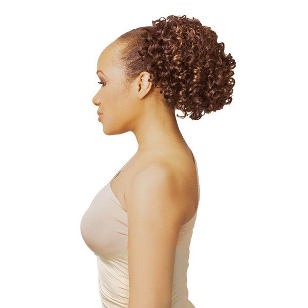 New Born Free Mocha Ponytail