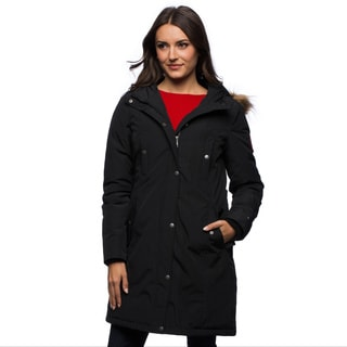 Tommy Hilfiger Long Women's Hooded Parka