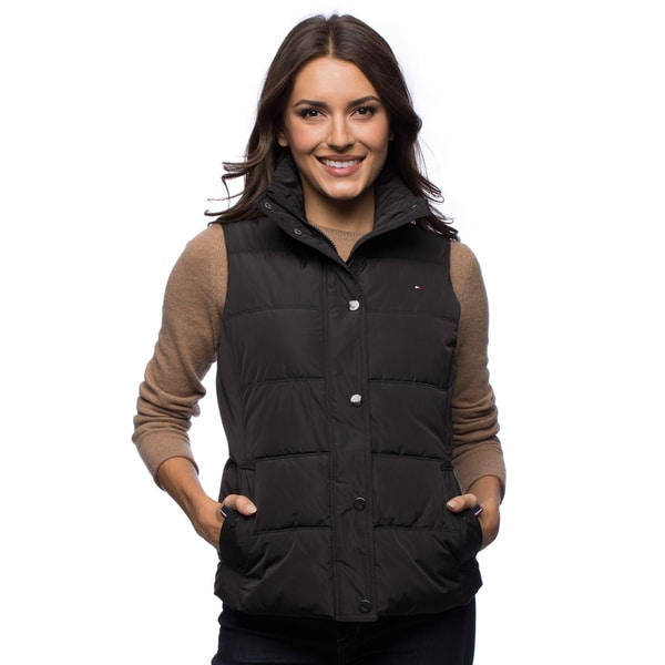 Tommy Hilfiger Faux Down Women's Vest