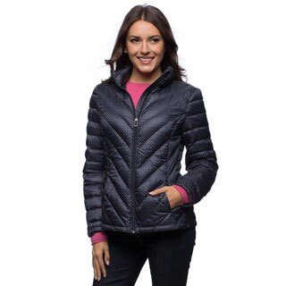 Tommy Hilfiger Chevron Quilt Packable Down Women's Jacket