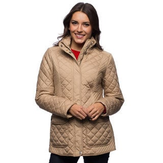 Tommy Hilfiger Women's Quilted Poly Fill Coat