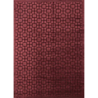 Madison Red Brick Area Rug (9'2 x 12'7)