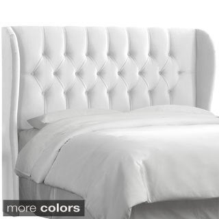 Made to Order California King-Size Tufted Wingback Headboard