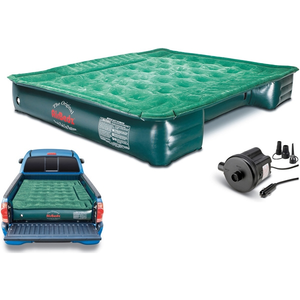 AirBedz Lite PPI PV203C Truck Bed Air Mattress with 12V Portable Pump