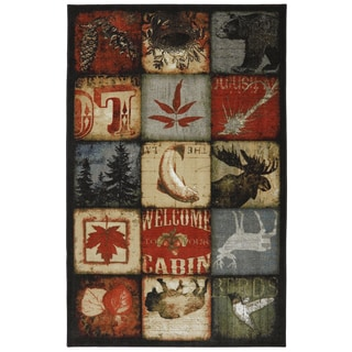 American Rug Craftsmen Escape Lodge Patches Rug (8'x10')