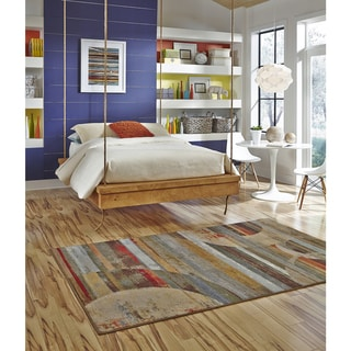American Rug Craftsmen Escape Integrated Geo Rug (5'x8')