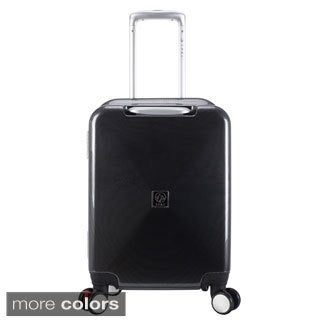 Traveler's Club Seat-on Collection 20-inch Hardside Carry-on Upright Spinner Suitcase