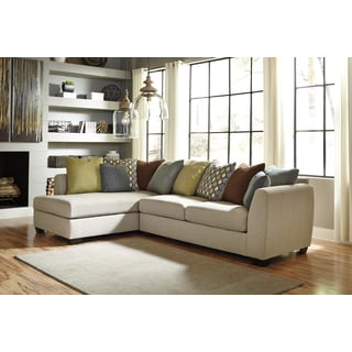 Signature Design By Ashley Beige Casheral Right-facing Chaise Sectional Sofa