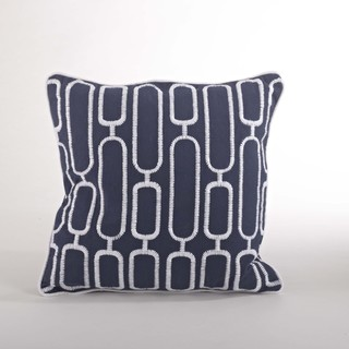 Stitched Down Filled Throw Pillow