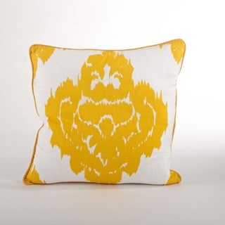 Damask Down Filled 18-inch Throw Pillow
