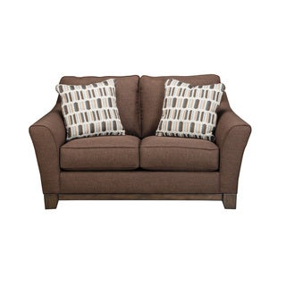 Signature Design by Ashley Janley Chocolate Loveseat
