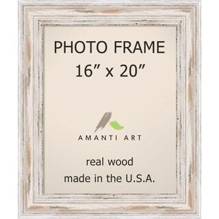 Alexandria Whitewash Photo Frame 16x20' 21 x 25-inch