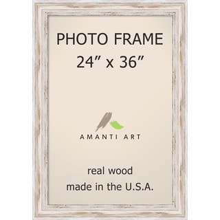 Alexandria Whitewash Photo Frame 20x24 Matted To 16x20
