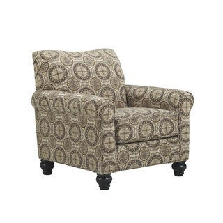 Signature Design by Ashley Breville Burlap Accent Chair