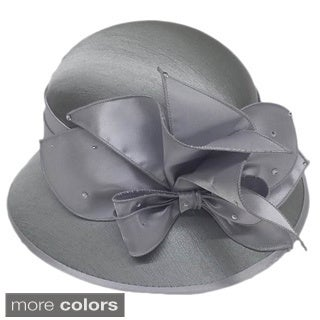 Swan Women's Dressy Silk Covered Hat