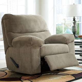 Signature Design by Ashley Zorah Mocha Rocker Recliner