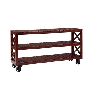Christopher Knight Home Lilburn Cherry X-motif Console Trolley