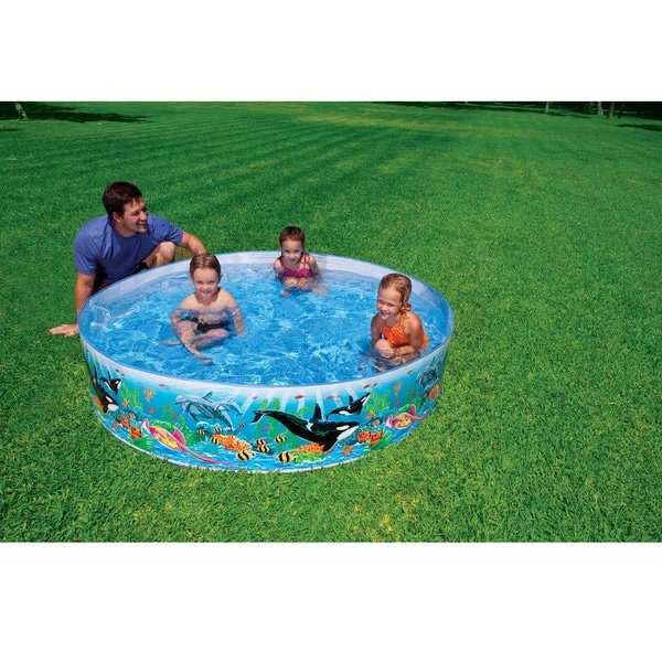 Intex 6-foot by 15-inch Ocean Reef Snapset Pool