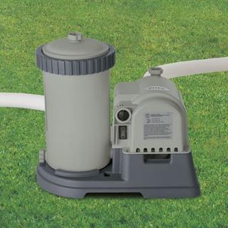 Intex Krystal Clear 2,500 GPH Cartridge Filter Pump