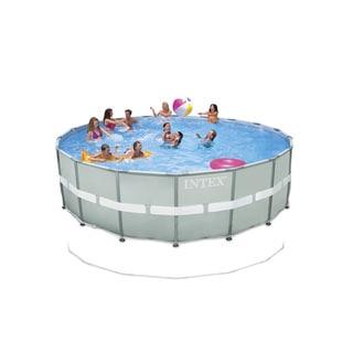 Intex 18-foot by 52-inch Ultra Frame Pool