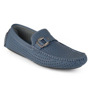 Vance Co. Men's Slip-on Perforated Loafers
