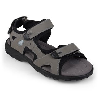 Vance Co. Men's Adjustable Double Strap Sandals