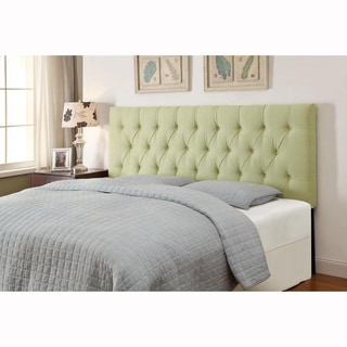 Lime Green King/California King Size Tufted Upholstered Headboard
