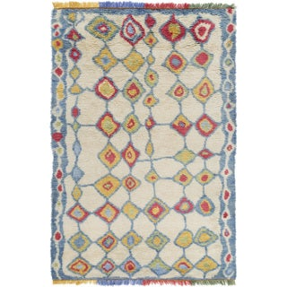 Hand-Knotted Exmouth Distressed Wool Rug (9' x 13')