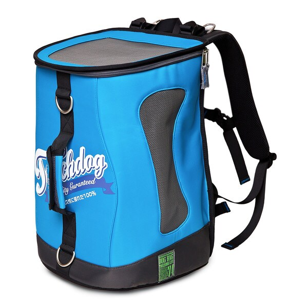 Touchdog Water Resistant Ultimate-travel Airline Approved Triple Carrying Pet Carrier
