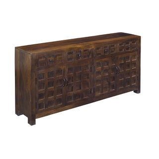 Christopher Knight Home Rich Brown Dimensional Facade Sideboard