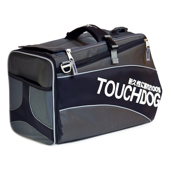 Touchdog Modern-glide Water-resistant Airline Approved Dog Carrier