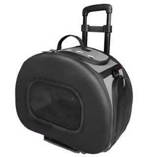 Tough-shell Final Destination Wheeled Collapsible Pet Carrier
