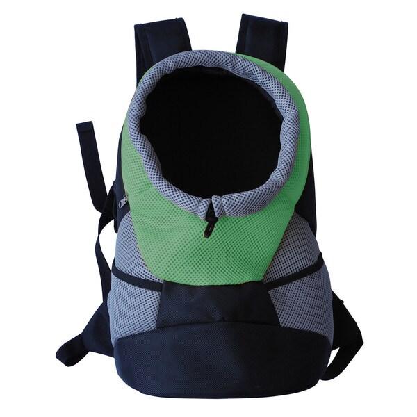 On-the-go Bark-pack Supreme Travel Backpack Pet Carrier